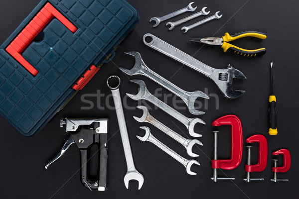 toolbox and reparement tools Stock photo © LightFieldStudios