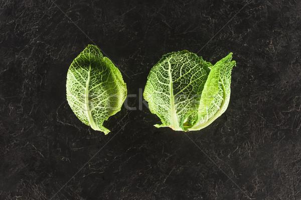 Top мнение свежие здорового зеленый капуста Сток-фото © LightFieldStudios