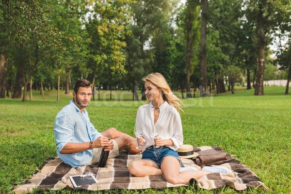 romantic date Stock photo © LightFieldStudios