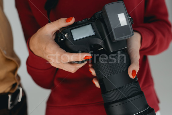 digital photo camera Stock photo © LightFieldStudios