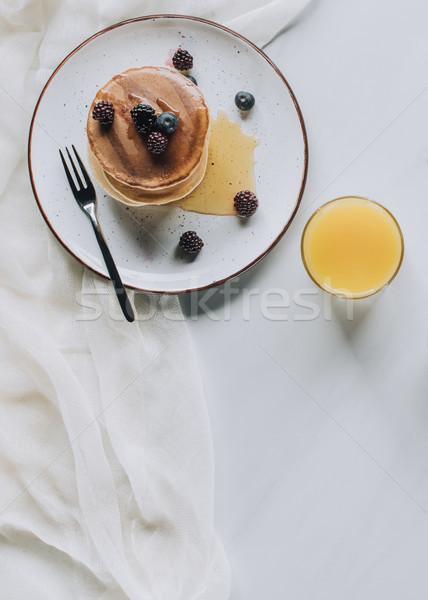 先頭 表示 おいしい 健康 朝食 自家製 ストックフォト © LightFieldStudios