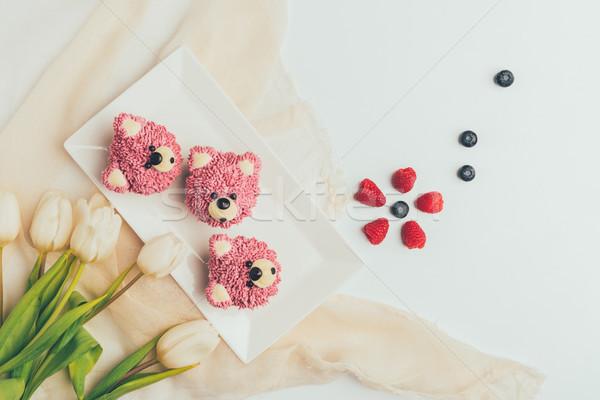 üst görmek lezzetli biçim ayılar Stok fotoğraf © LightFieldStudios
