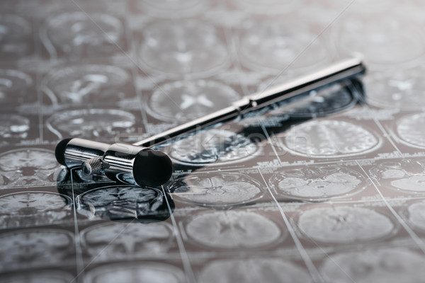 Ver reflexo martelo raio x quadro Foto stock © LightFieldStudios