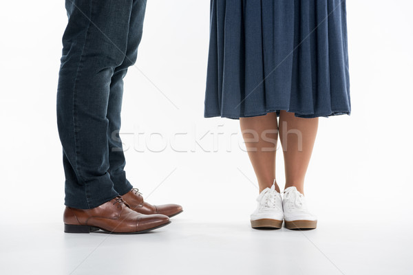 Legs of man and woman Stock photo © LightFieldStudios