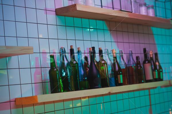 различный бутылку шельфа Бар мнение Сток-фото © LightFieldStudios