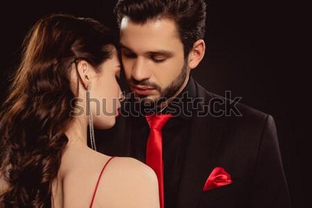 Hermosa sensual Pareja retrato elegante ropa Foto stock © LightFieldStudios