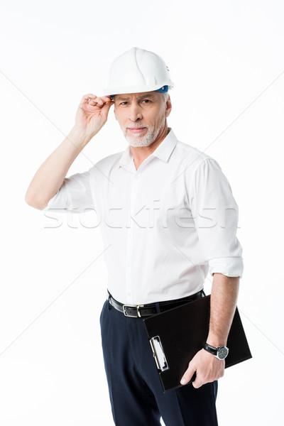 Stockfoto: Volwassen · mannelijke · architect