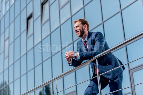 stylish businessman in suit  Stock photo © LightFieldStudios