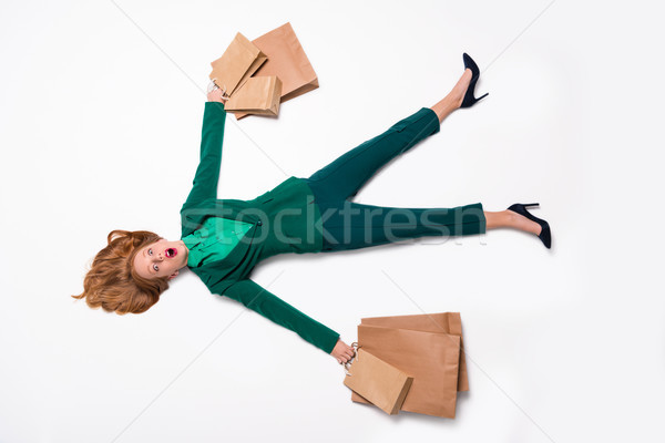 shopaholic Stock photo © LightFieldStudios