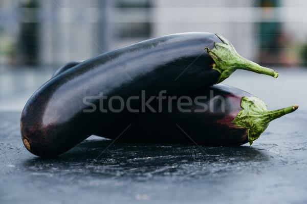 Közelkép kilátás érett friss organikus főzés Stock fotó © LightFieldStudios