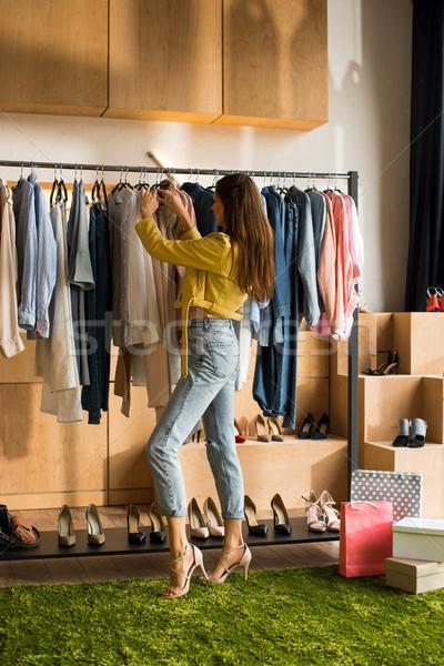 одежды бутик вид сбоку Сток-фото © LightFieldStudios