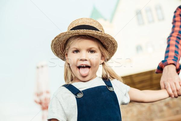 Kid портрет девочку глядя камеры Сток-фото © LightFieldStudios