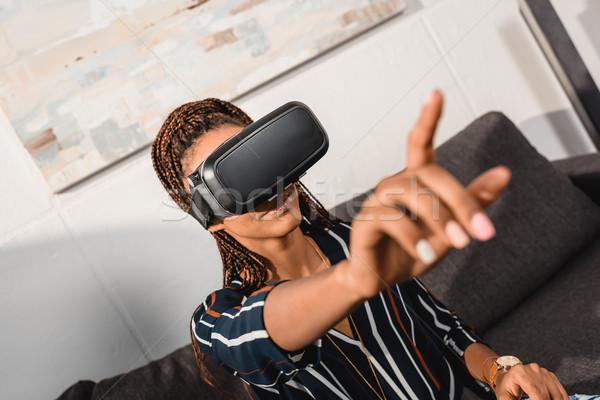 virtual reality Stock photo © LightFieldStudios