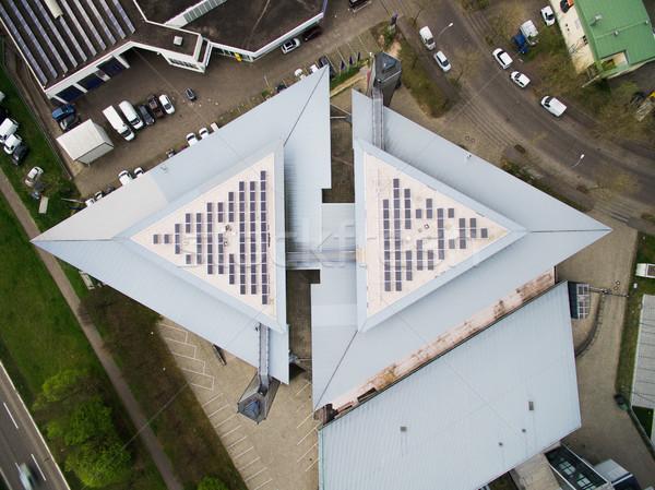 Haut vue urbaine bâtiment voitures Allemagne Photo stock © LightFieldStudios