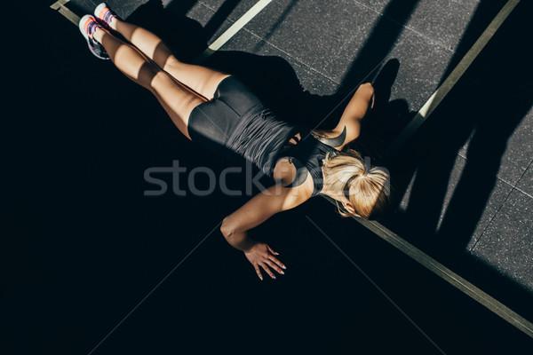 sportswoman Stock photo © LightFieldStudios