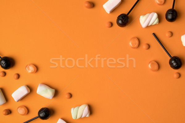 Halloween widoku słodkie pomarańczowy Zdjęcia stock © LightFieldStudios