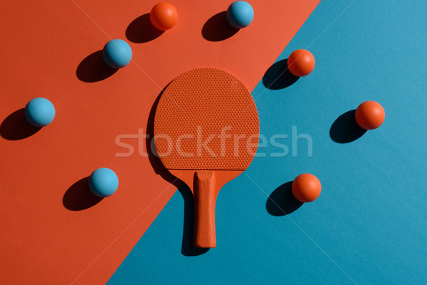 Ping-pong topo ver tiro Foto stock © LightFieldStudios