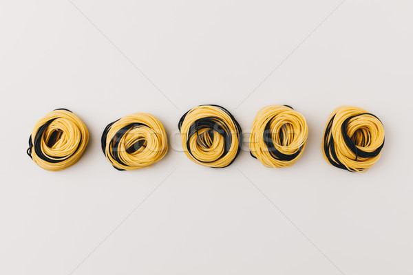 rolled pasta nests Stock photo © LightFieldStudios