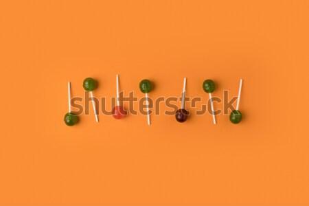 Top мнение красочный вкусный Sweet продовольствие Сток-фото © LightFieldStudios