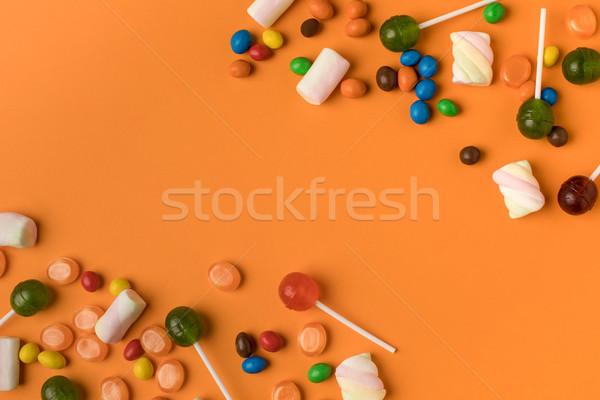 Halloween kleurrijk smakelijk Stockfoto © LightFieldStudios