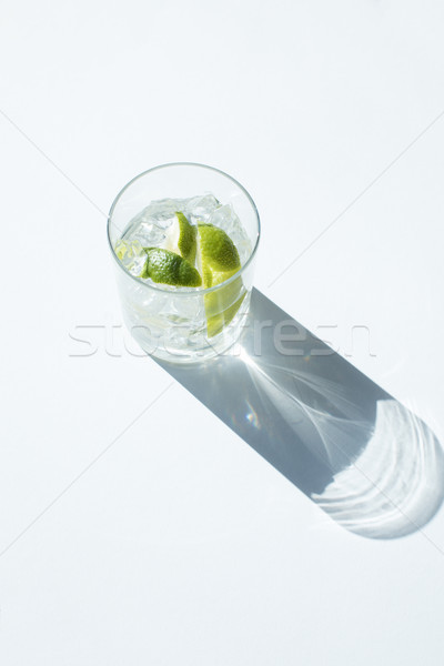 Gin Tonic in glass Stock photo © LightFieldStudios