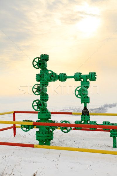 Fossile fule - methane gas Stock photo © Lighthunter