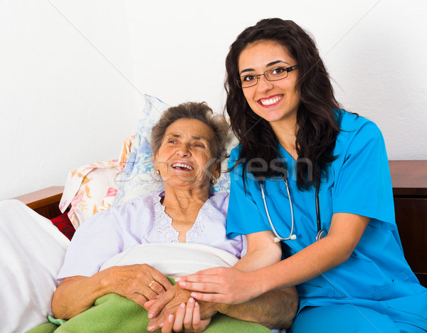 Fun with Patients Stock photo © Lighthunter