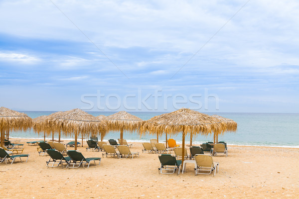 Ionian sea beach Stock photo © Lighthunter