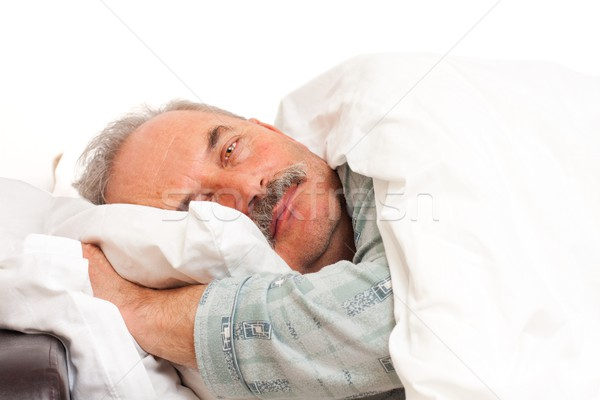 Laying in bad Stock photo © Lighthunter