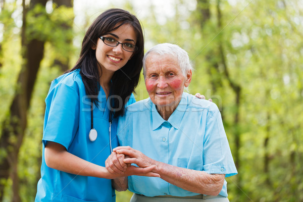 Elderly Care Stock photo © Lighthunter