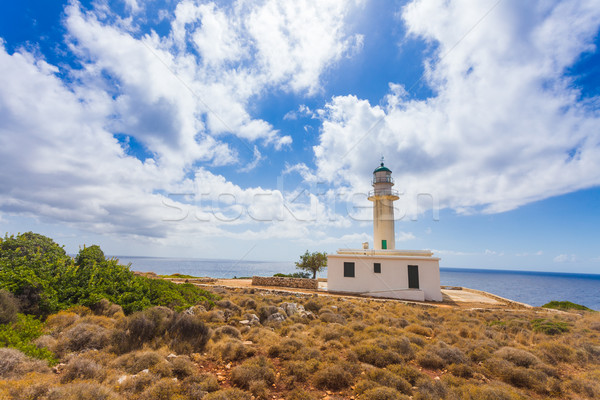 Gerogombos lighthouse Stock photo © Lighthunter