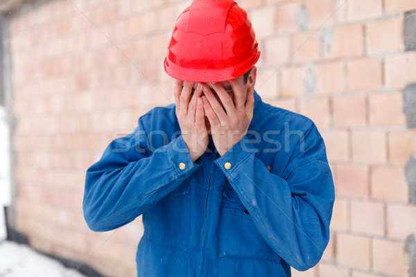 Dissapointment - facepalm Stock photo © Lighthunter