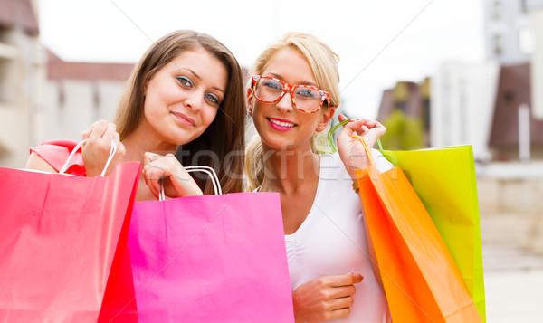 Wonderful Women Gone Shopping Stock photo © Lighthunter