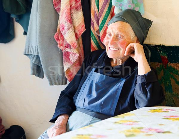 Sorrir velho história sorridente amavelmente Foto stock © Lighthunter