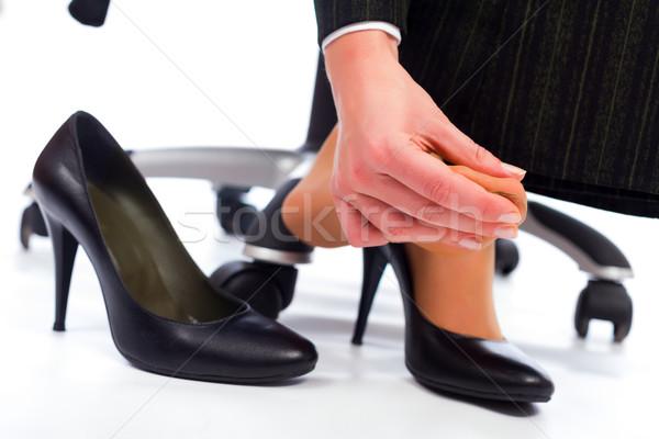более ног обувь болезненный Сток-фото © Lighthunter