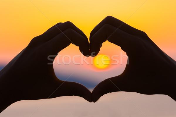 Heart love Stock photo © Lighthunter