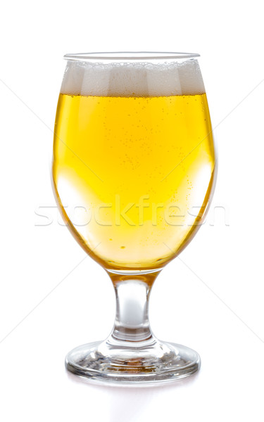 Blond bier glas vers Stockfoto © Lighthunter