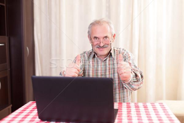 Benim büyük gibi yaşlı adam Stok fotoğraf © Lighthunter