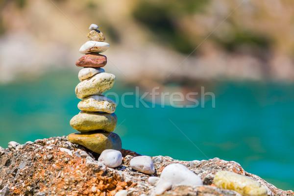 Simple art on the beach Stock photo © Lighthunter