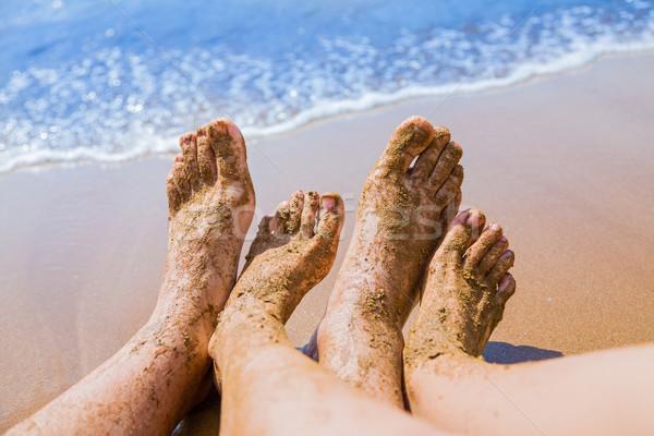 Dirty feet Stock photo © Lighthunter