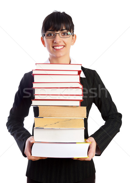 Teacher with Books Stock photo © Lighthunter