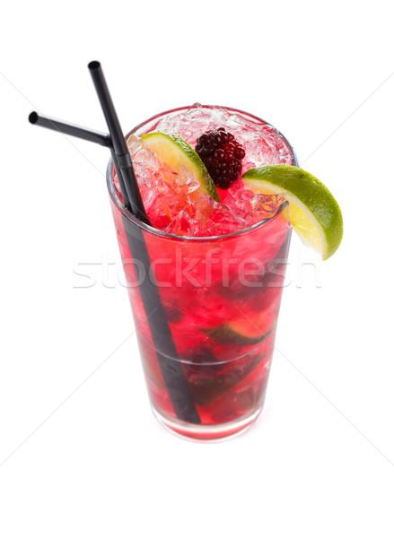 Rainbow mojito special cocktail Stock photo © Lighthunter