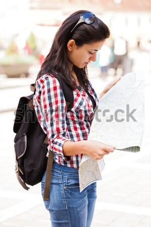Reviewing Taken Photos Stock photo © Lighthunter