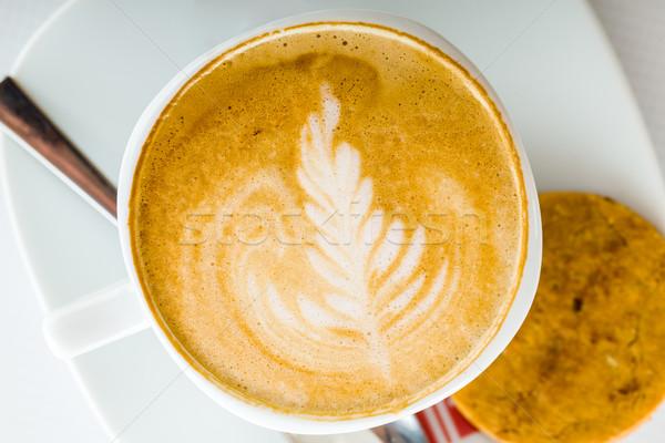 Coffee art Stock photo © Lighthunter