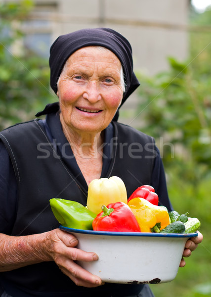 Hoar, old woman Stock photo © Lighthunter
