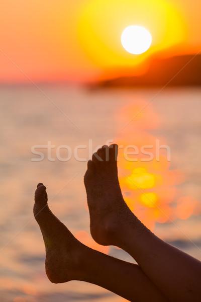 Feet on vacation Stock photo © Lighthunter