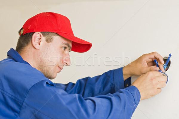 Handyman working Stock photo © Lighthunter