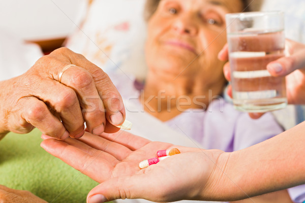Supplements for Seniors Stock photo © Lighthunter