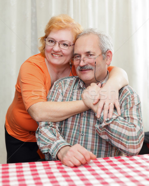 Amabilidad familia ancianos Pareja otro Foto stock © Lighthunter