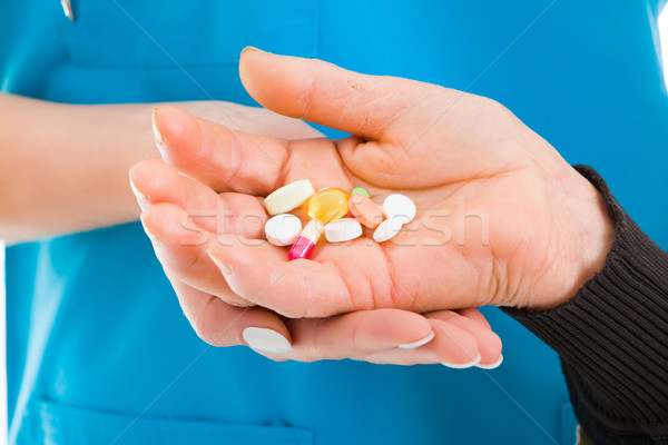 Prescription drugs and pharmaceutical products Stock photo © Lighthunter
